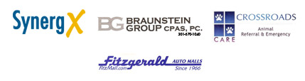 SynergX; Braunstein Group CPA's, PC; Crossroads Animal Referral and Emergency; Fitzgerald Auto Mall